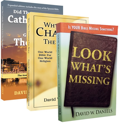 David W Daniels 3 Book Bundle