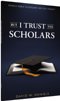 But I Trust The Scholars