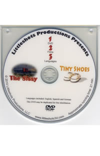 Tract animation DVD (Sissy & Tiny Shoes)