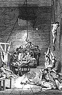 Torture devices used in the inquisition