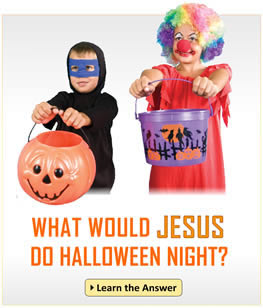 Kids need your help!  Give them the gospel this Halloween.